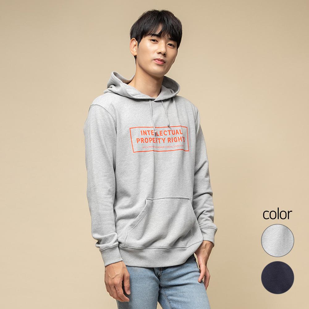 캐럿 남녀공용 릴렉스핏 그래픽 후드 티셔츠 UL01AA