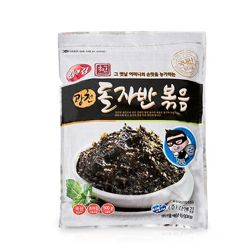 김앤김 & 더국민 광천 돌자반 볶음, 500g, 1개