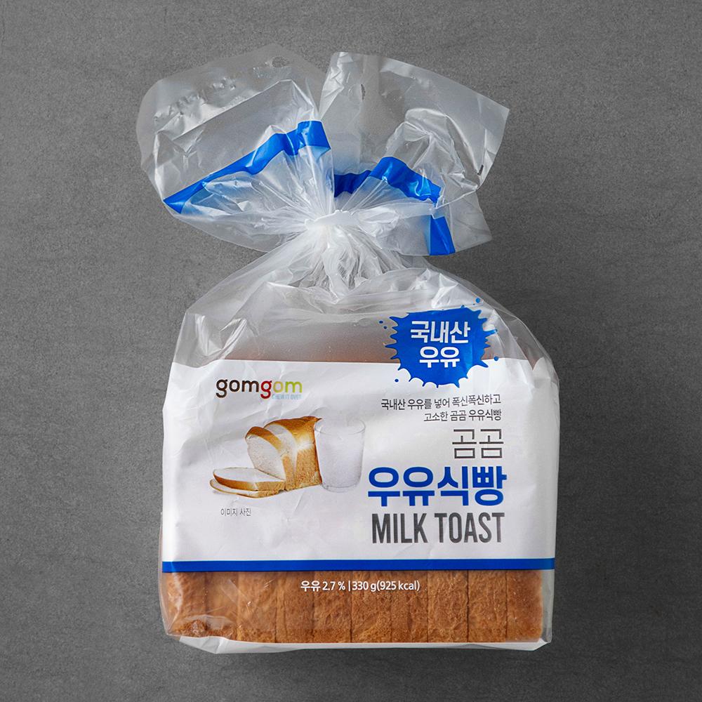 곰곰 우유식빵, 330g, 1봉