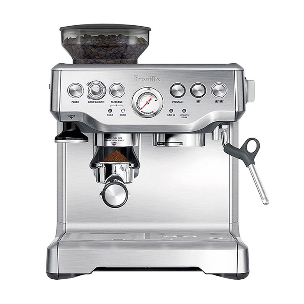 [가정용 에스프레소머신] 브레빌 바리스타 익스프레스 커피머신 실버, BES870 - 랭킹1위 (1269600원)