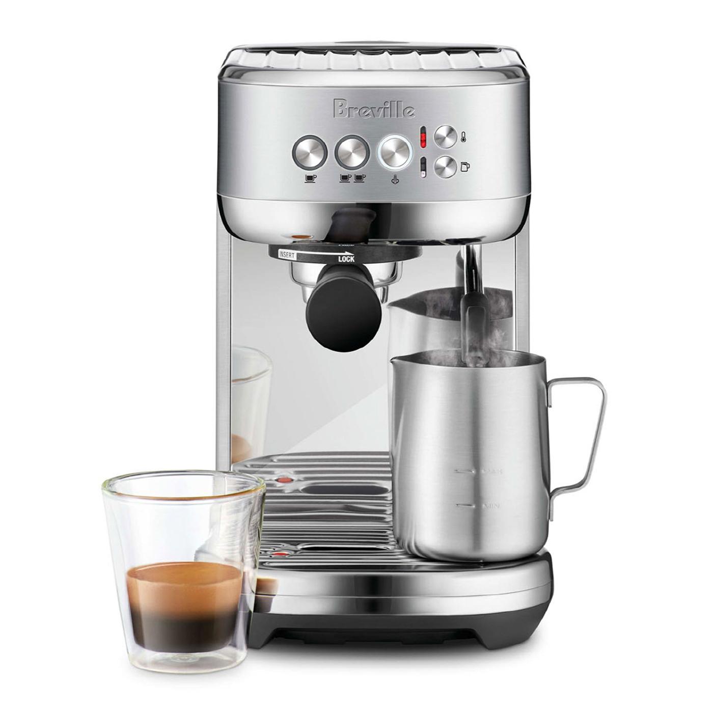브레빌 밤비노 플러스 반자동 커피머신, BES500