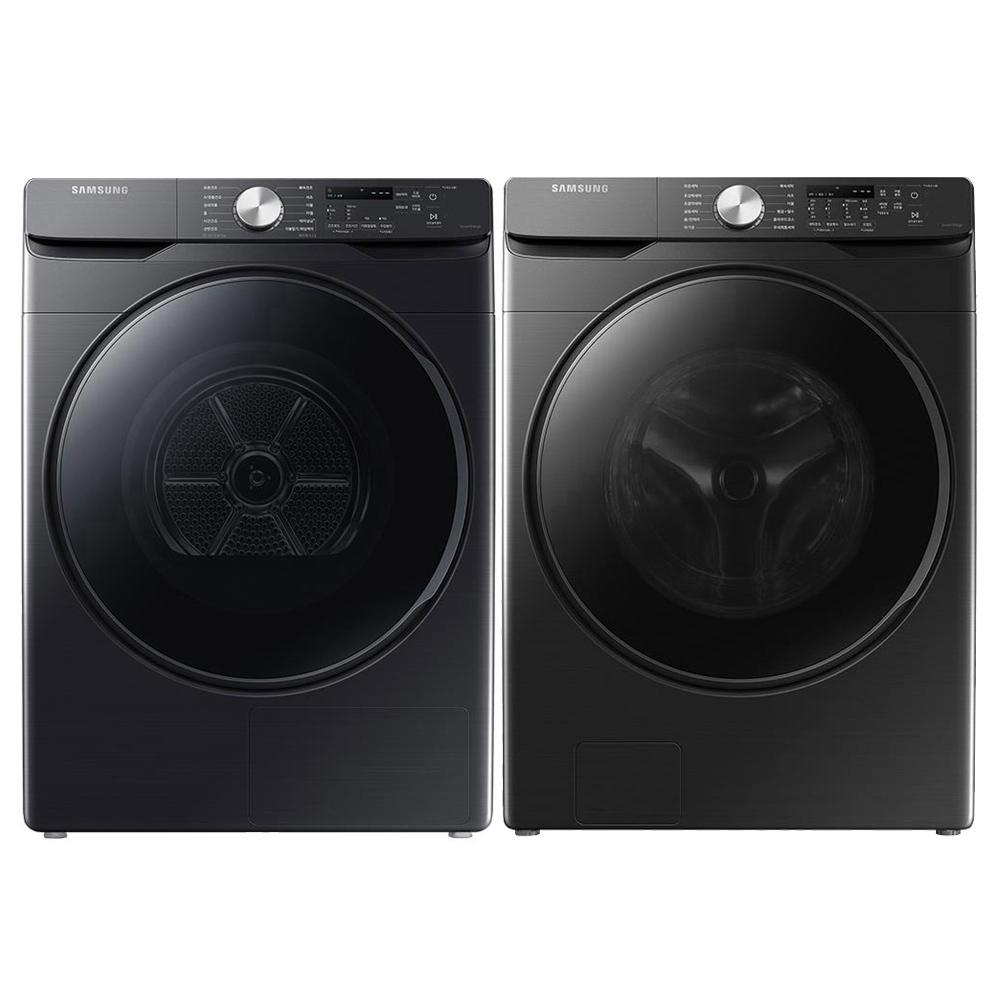 삼성전자 그랑데 패키지 드럼세탁기 WF23T8000KV 23kg + 건조기 DV14T8520BV 14kg 방문설치, WF23T8000KV, DV14T8520BV