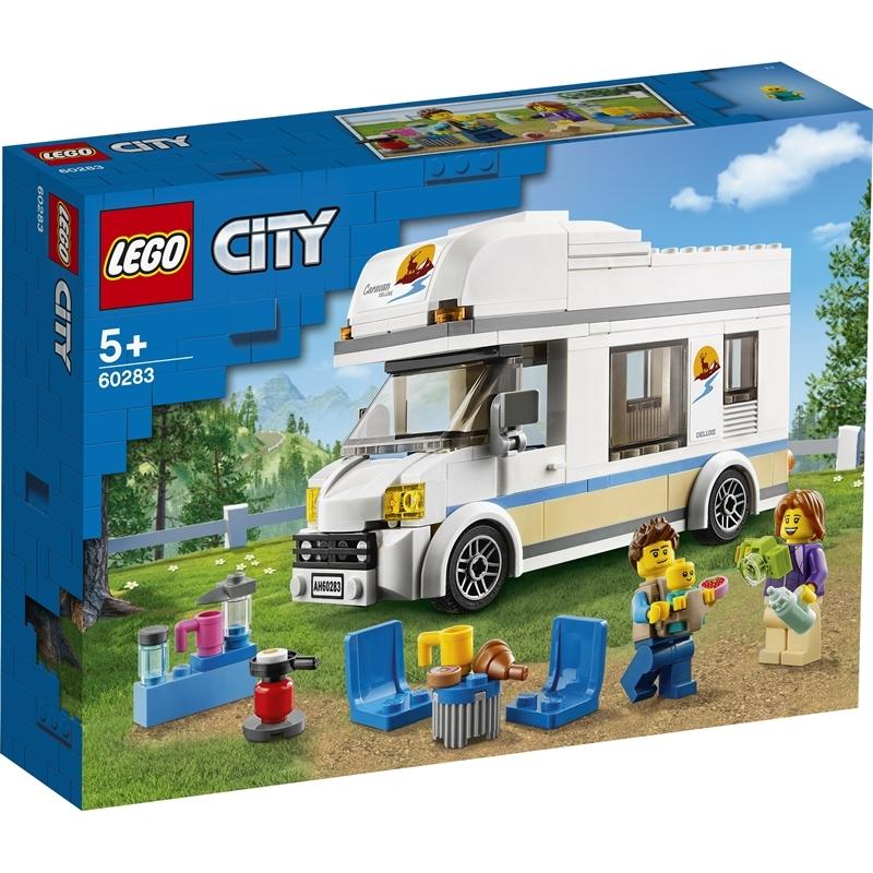 레고 시티 60283 휴가용 캠핑밴, 혼합색상
