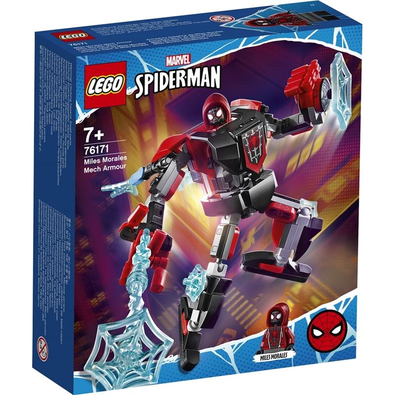 레고 슈퍼히어로 76171 스파이더맨 마일스 맥 로봇, 혼합색상