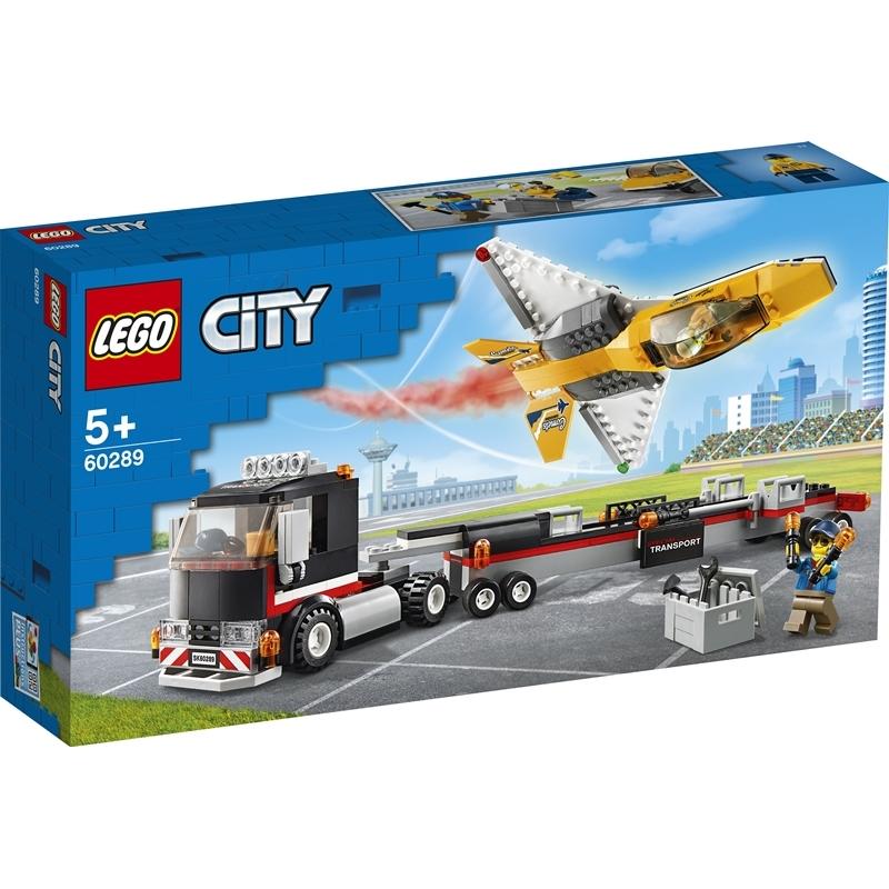 레고 시티 60289 에어쇼 제트기 수송 트럭, 혼합색상