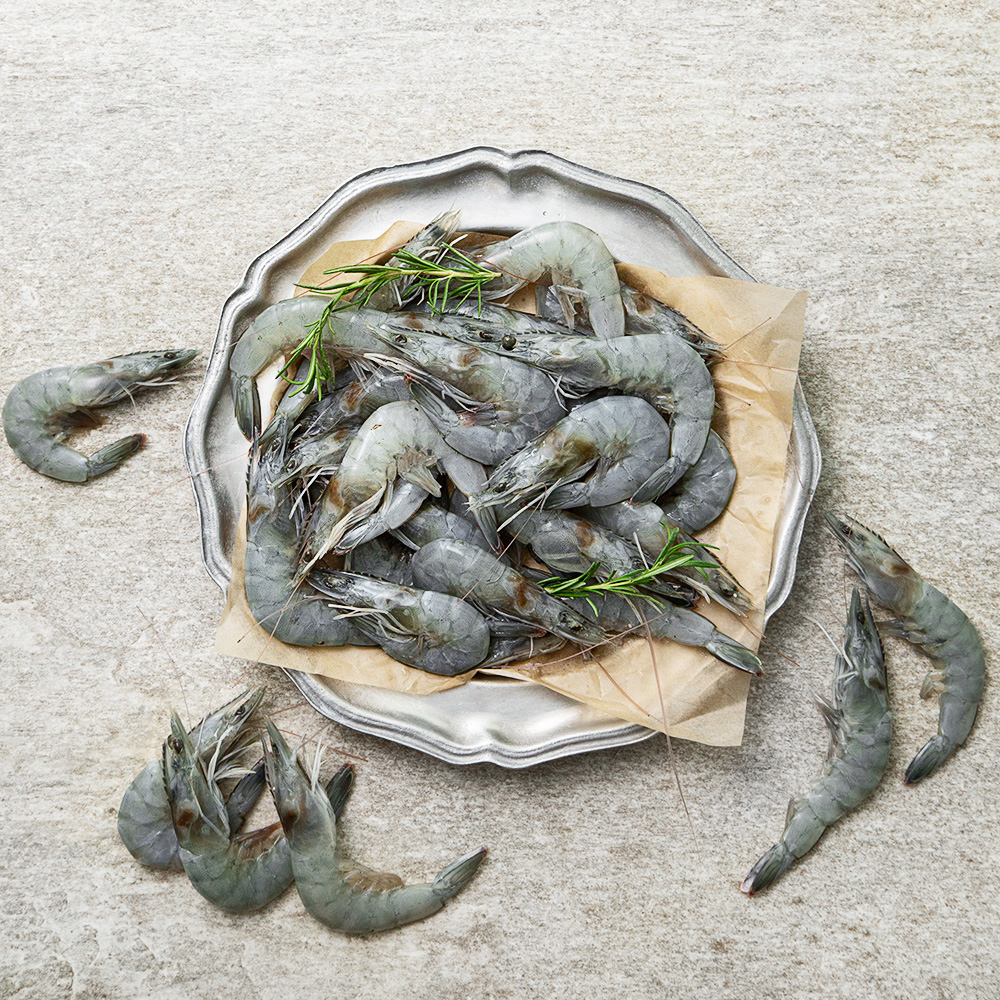 국내산 제철 생물 생새우 (냉장), 1kg, 1박스