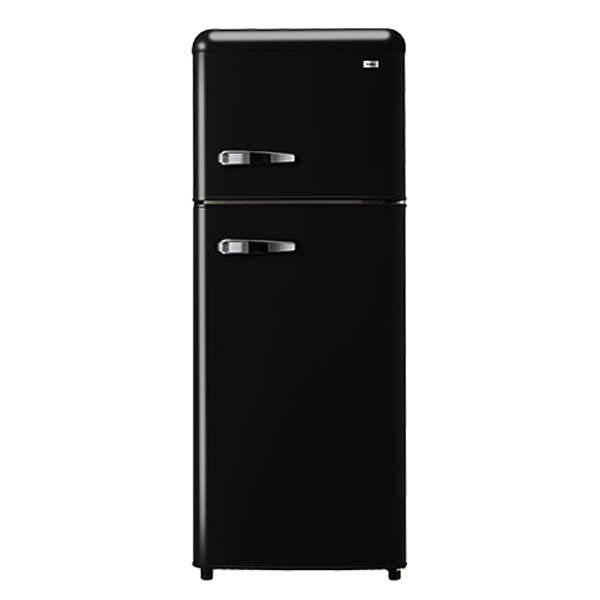 하이얼 레트로 스타일 냉장고 1등급 방문설치, HRT-118MDB