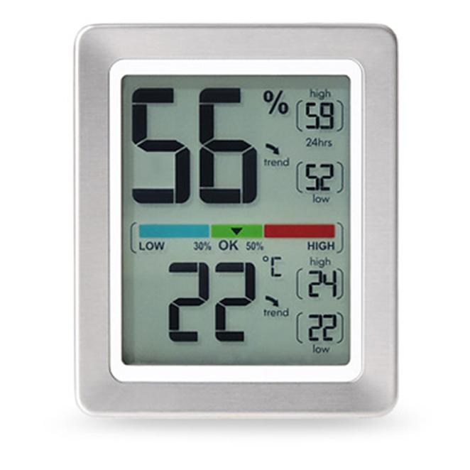 노바코퍼레이션 프리미엄 온습도계 화이트 ML0758, 1개