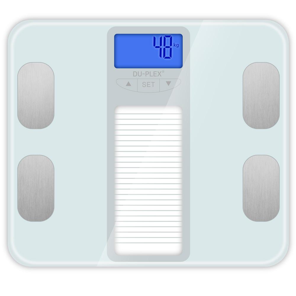 듀플렉스 가정용 체지방 체중계, DP-6601BFS, 단일색상