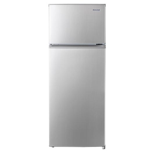 캐리어 클라윈드 1등급 인테리어 냉장고 207L 메탈 방문설치, CRF-TD207MDA