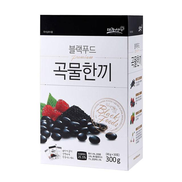 [선식] 블랙푸드 곡물한끼 선식, 30g, 10개입 - 랭킹65위 (8710원)