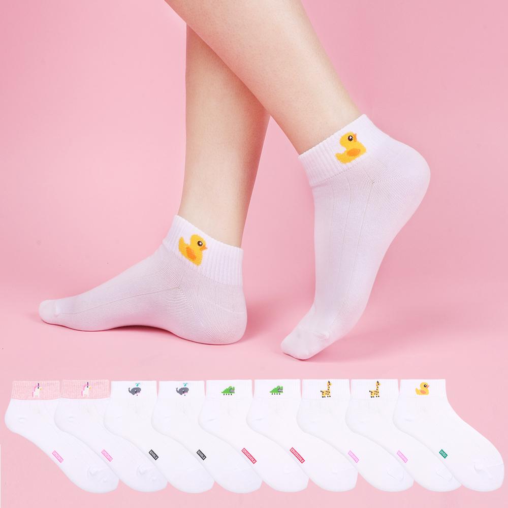 [여성패션] 두발로 여성용 길건너 스니커즈양말 10켤레 - 랭킹97위 (9900원)
