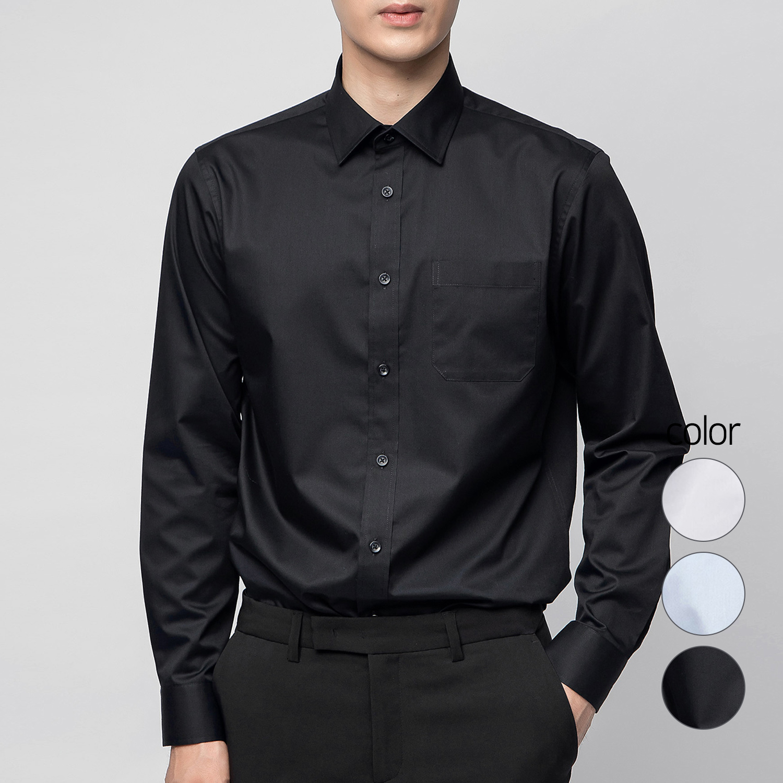 캐럿 남성용 드레스 셔츠