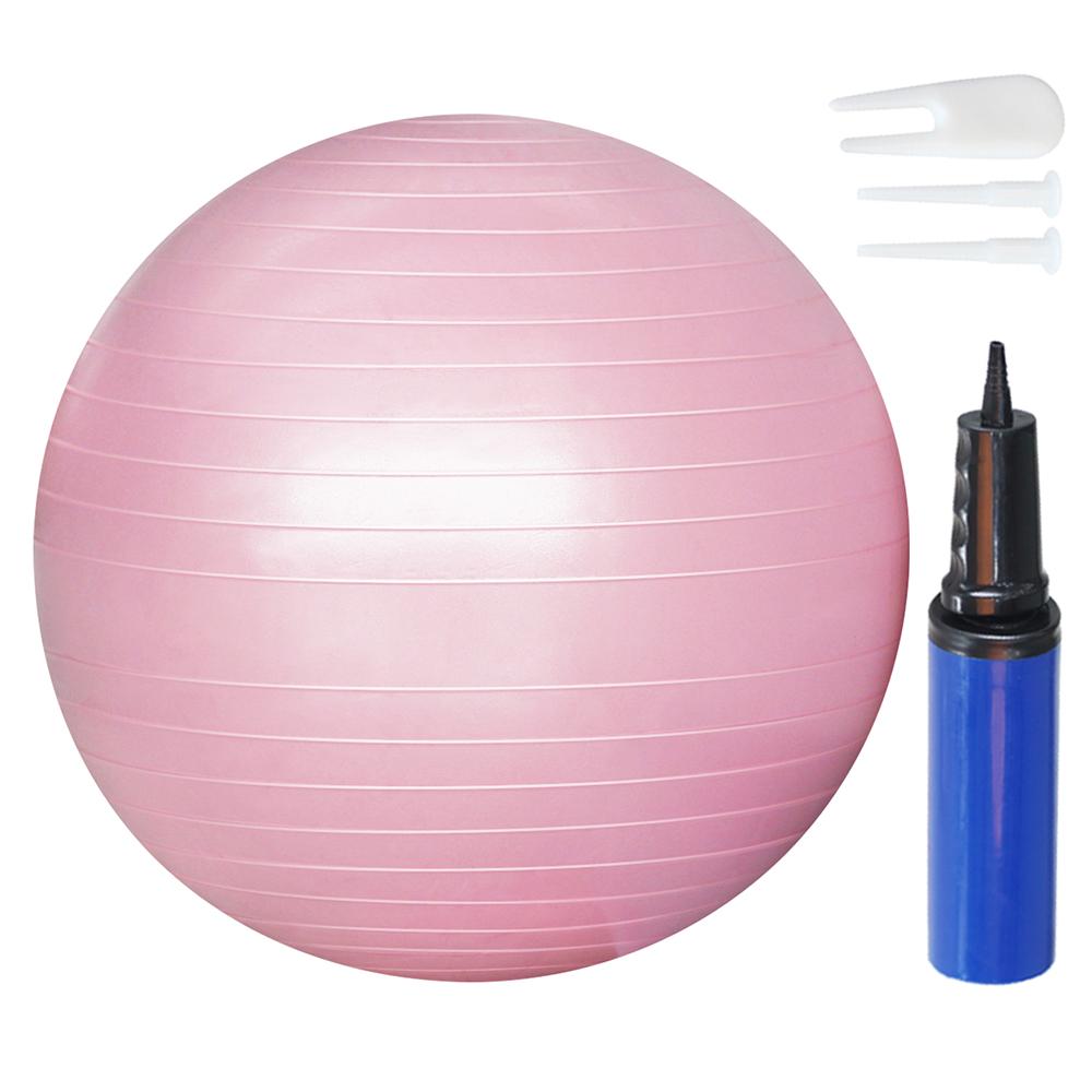 [스포츠/레저] 쿠팡 브랜드 - 코멧 트레이닝 짐볼 65cm + 에어펌프 + 마개 2개 + 마개집게, 핑크 - 랭킹91위 (9230원)