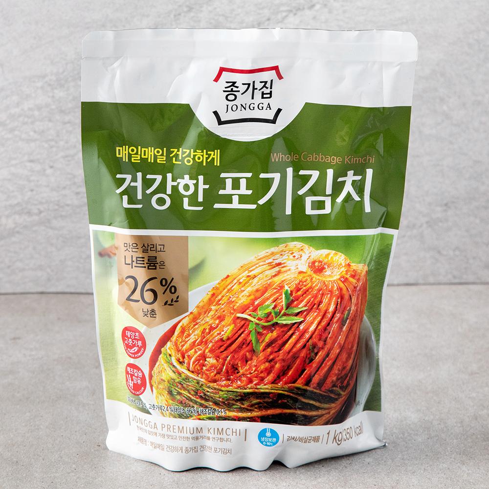 종가집 건강한 포기김치, 1kg, 1개
