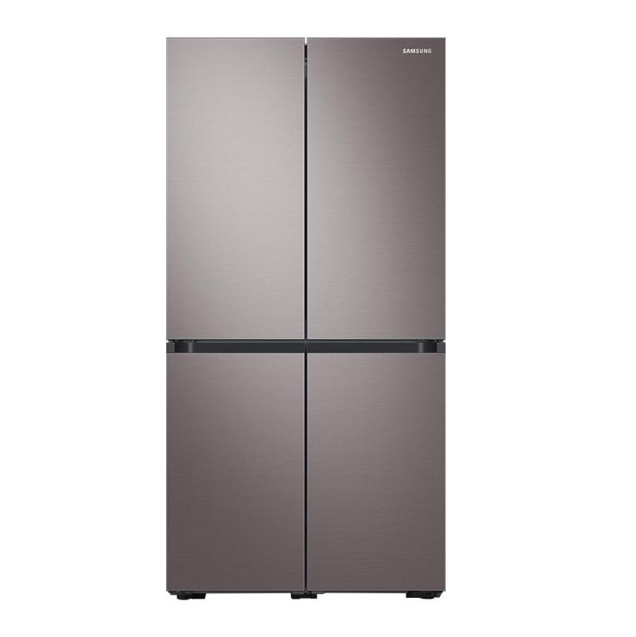 삼성전자 비스포크 4도어 냉장고 프리스탠딩 브라우니실버 RF85T9131T1 871L 방문설치