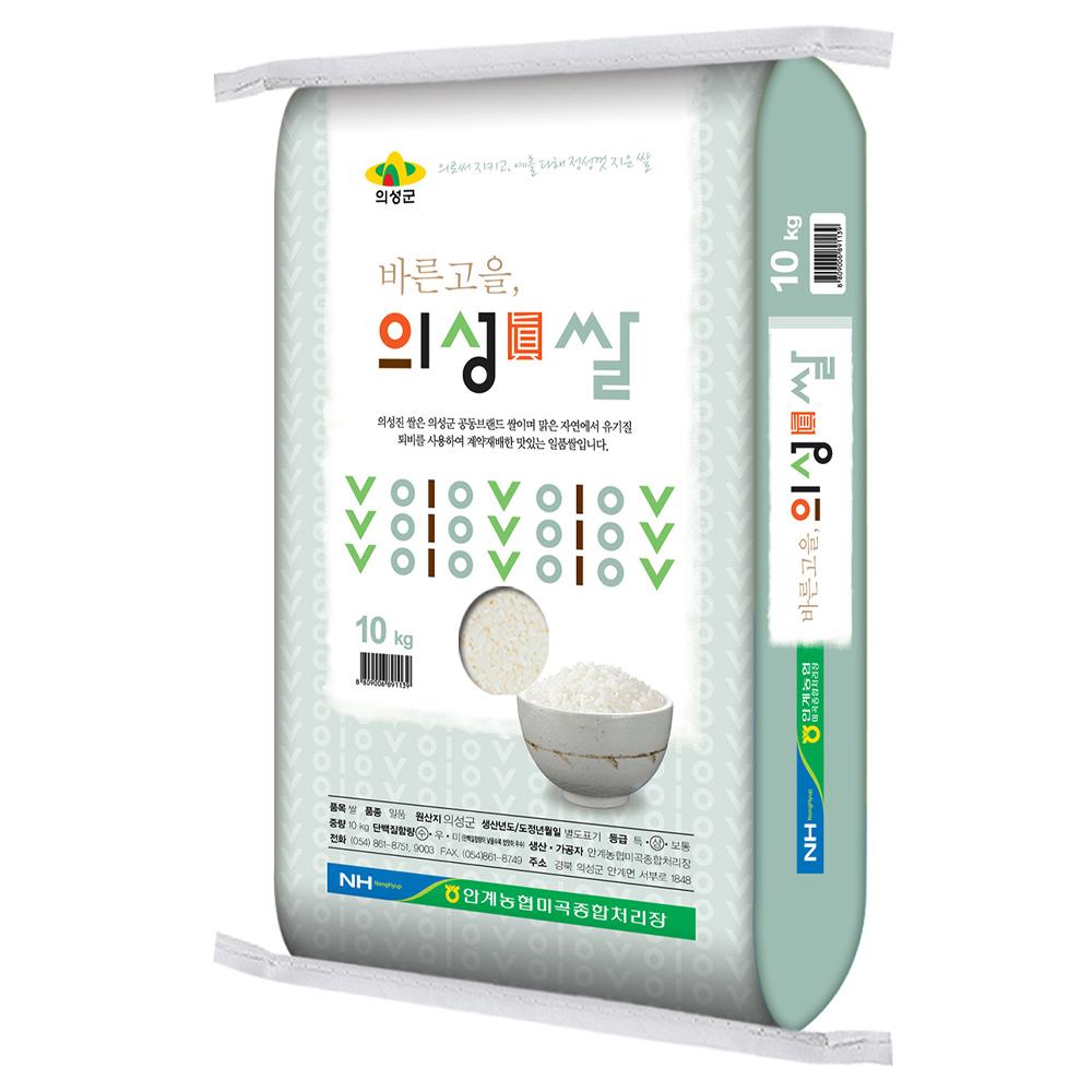 농협 일품 의성진쌀, 10kg, 1개
