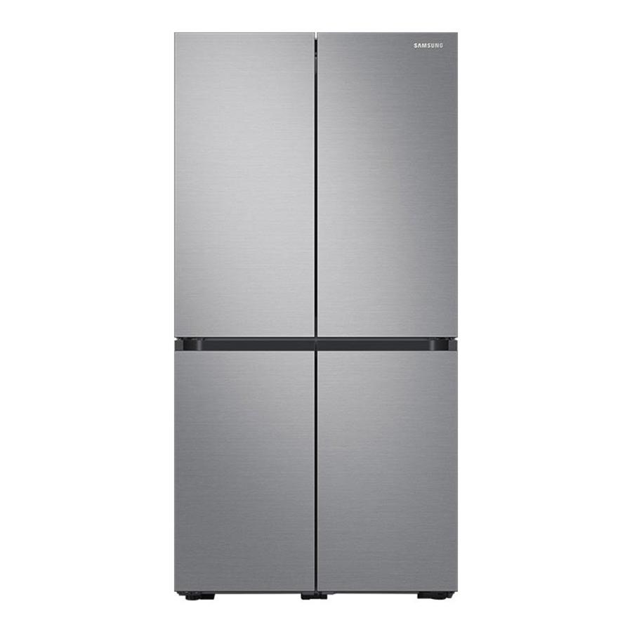 삼성전자 비스포크 4도어 냉장고 프리스탠딩 더블실버 RF85T9111T2 871L 방문설치