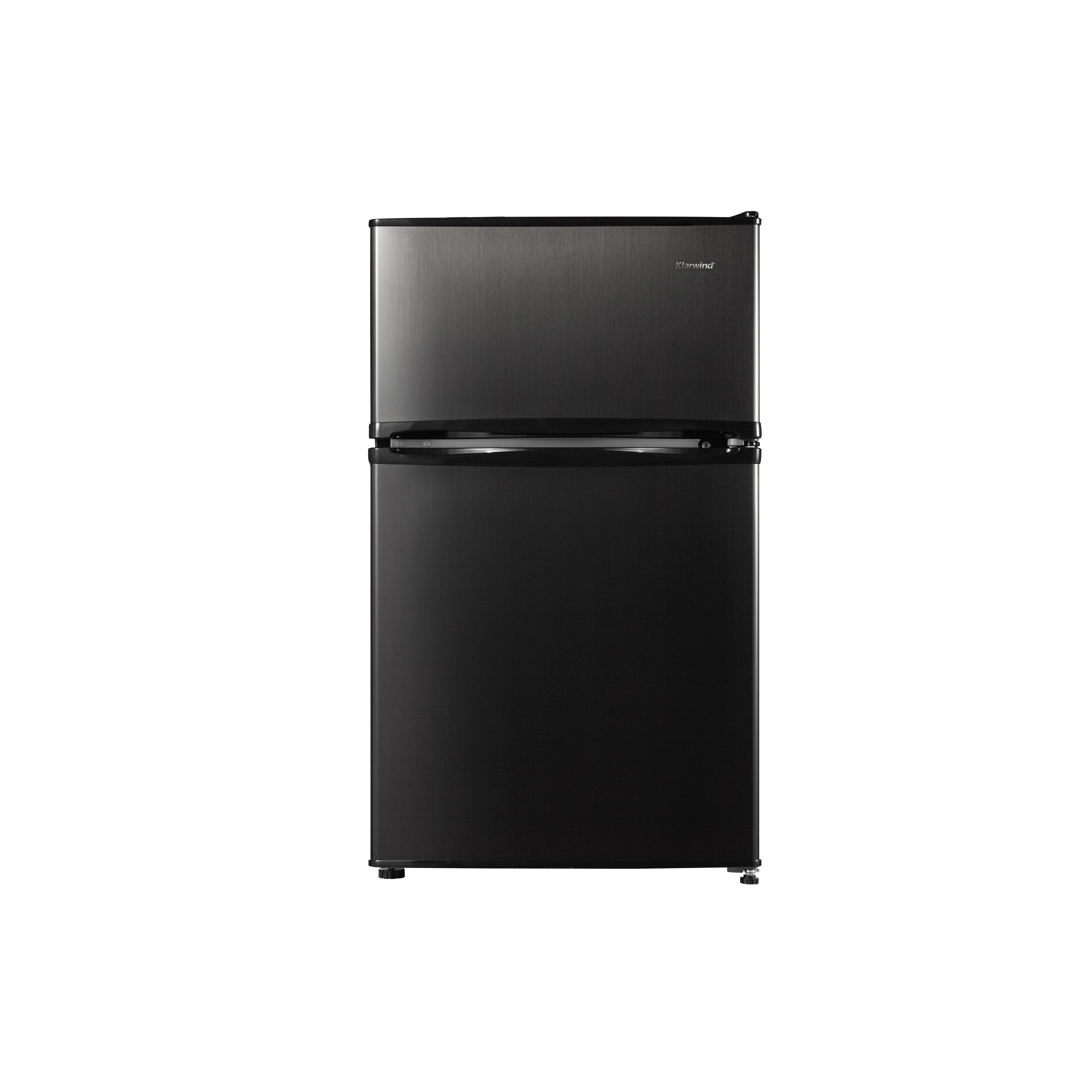 캐리어 클라윈드 1등급 슬림형 냉장고 블랙메탈 90L 방문설치, CRF-TD090BDA
