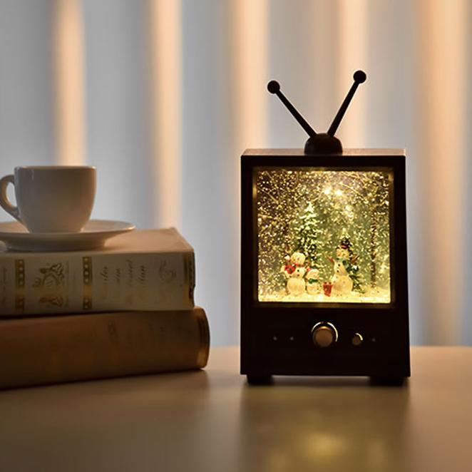 더솜씨 눈사람TV 무드등, 혼합 색상