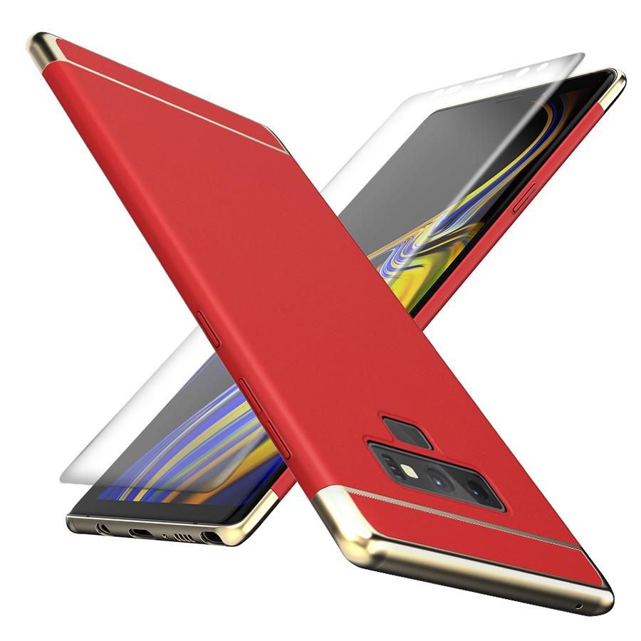 챌린지 하이브리드 3IN1 골드라인 휴대폰 케이스 + 3D 곡면필름