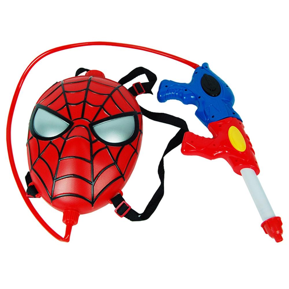 마블 스파이더맨 배낭 물총, 혼합 색상