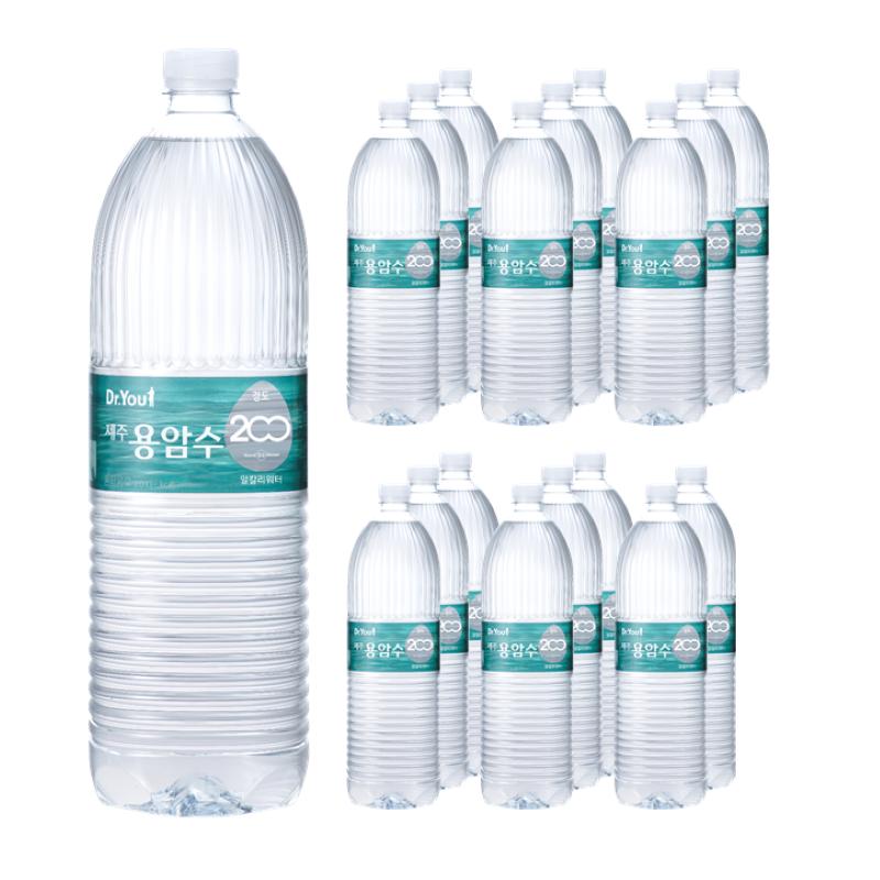 [Gold box] 오리온 닥터유 제주용암수 음료, 2L, 18개 - 랭킹1위 (10780원)