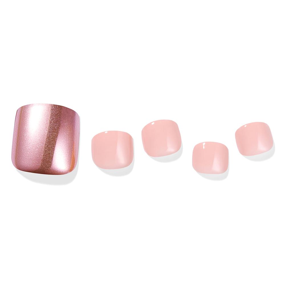 [뷰티] 데싱디바 매직프레스 미러파우더 컬렉션 패디큐어팁, 핑크 미러, 1세트 - 랭킹56위 (8100원)