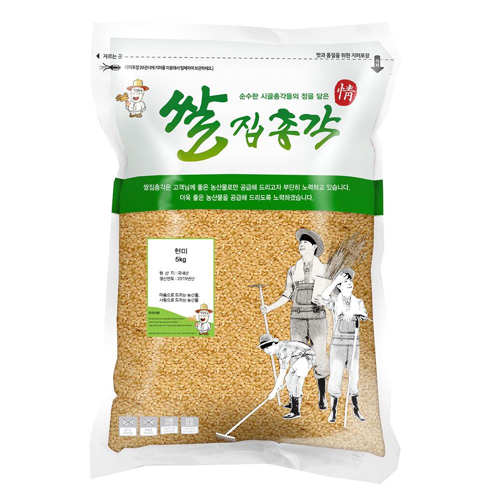 쌀집총각 현미, 5kg, 1개