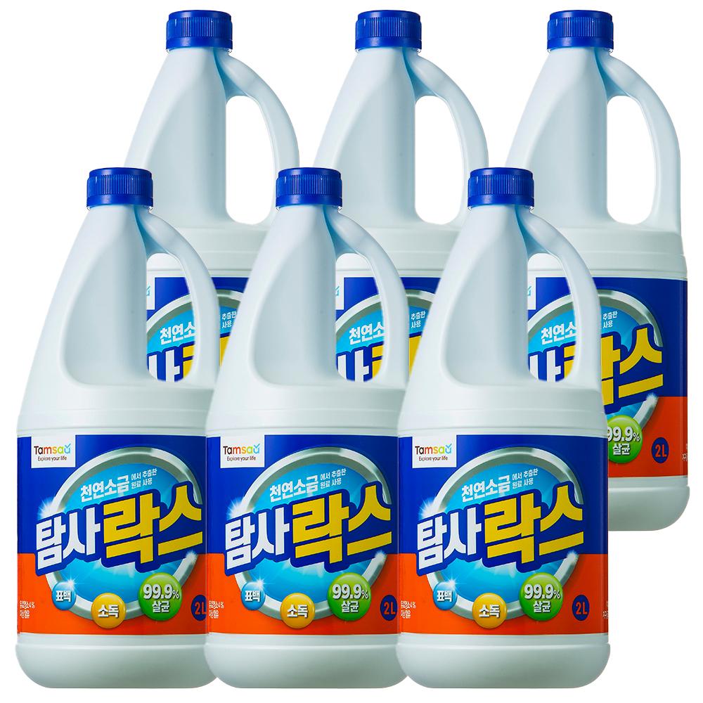 쿠팡 브랜드 - 탐사 락스, 2L, 6개