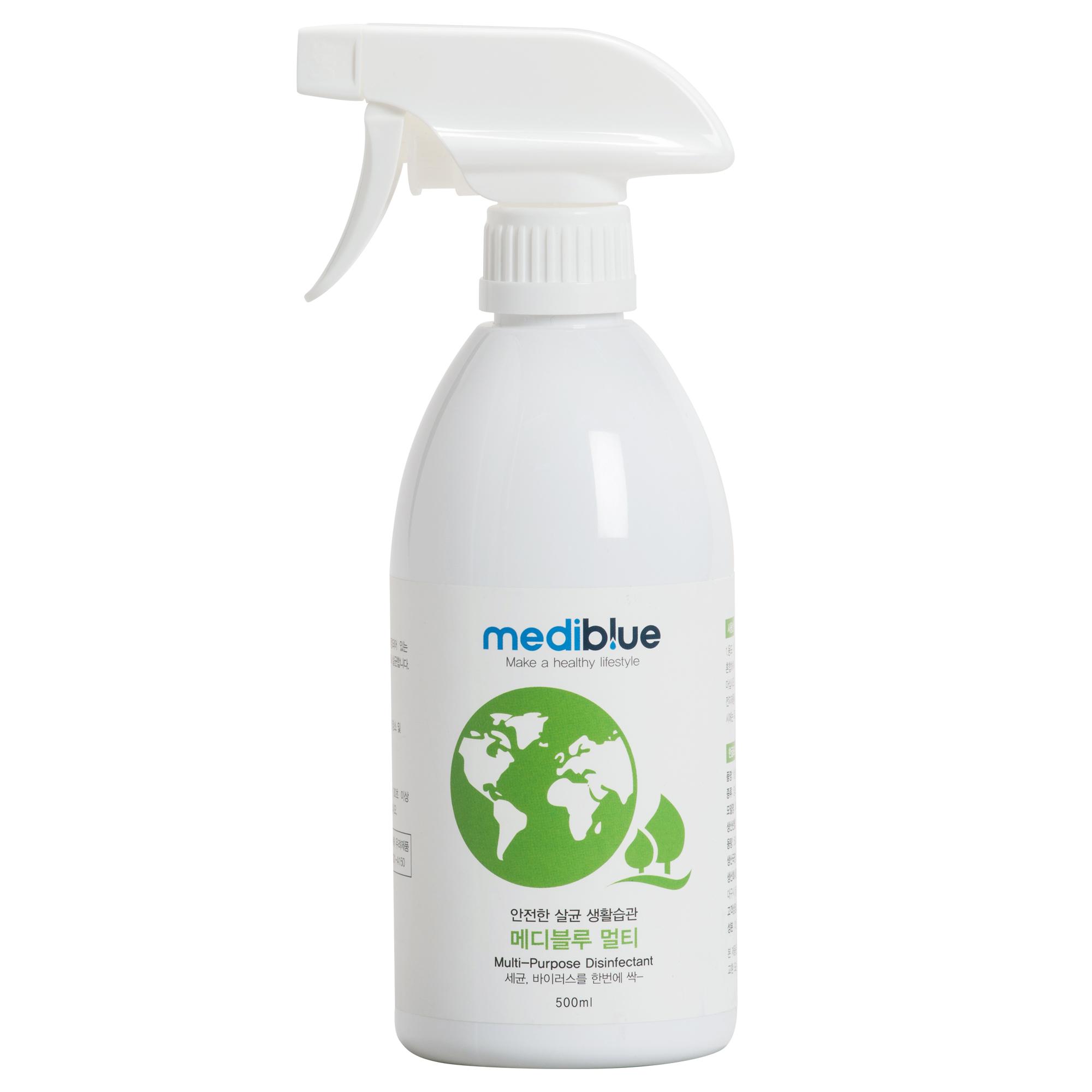 메디블루 멀티 뿌리는 살균소독제, 500ml, 1개