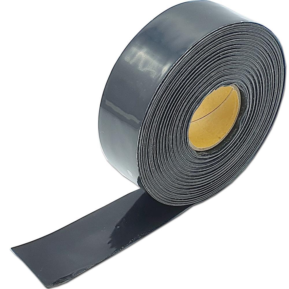 불독 자기융착 실리콘테이프 블랙 25mm x 10m, 1개