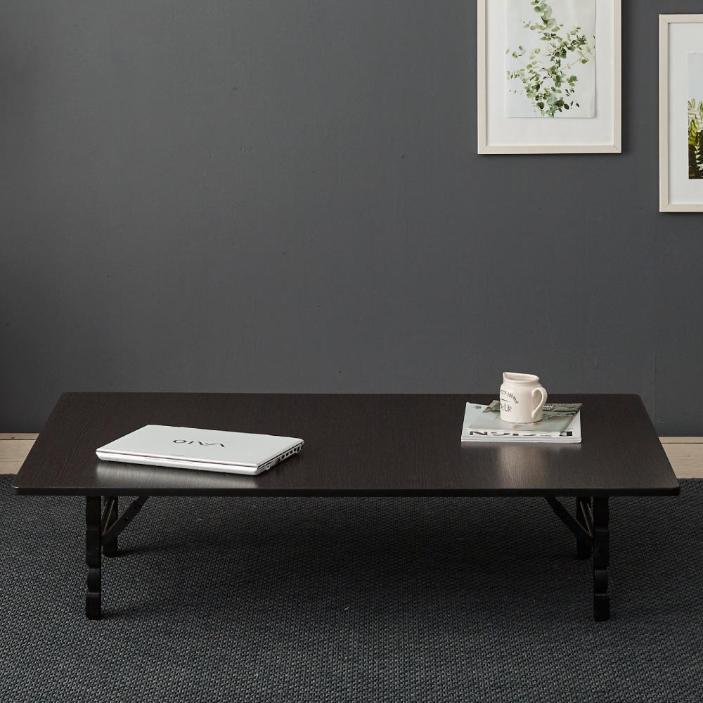 조은세상 LPM 접이식 테이블B 1200 x 800 mm, 블랙