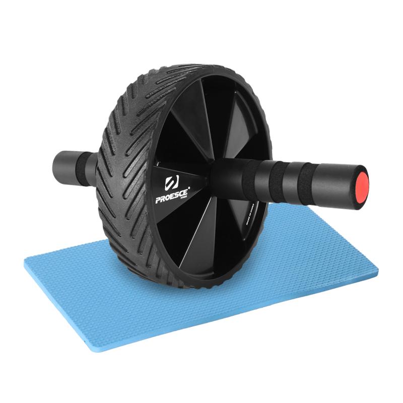 프로이스 AB휠 복근운동 기구 + 무릎 보호 패드, 혼합 색상