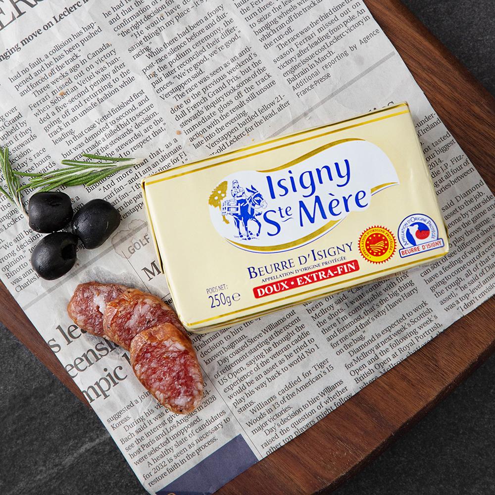 이즈니 AOP 무염 버터, 250g, 1개