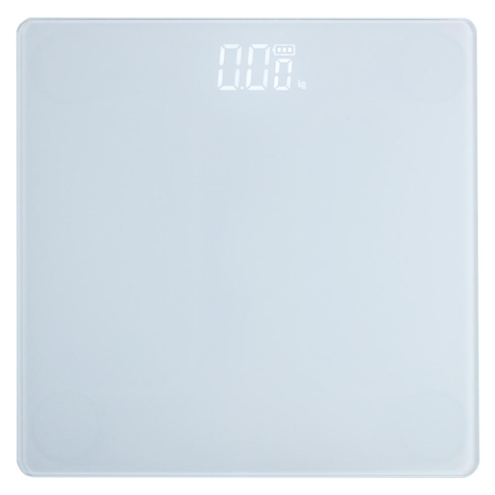 노바리빙 디지털 LED 모던 체중계, 단일 상품, 스노우화이트