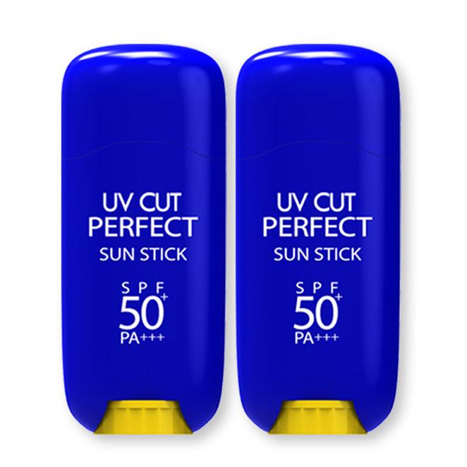 에네스티 유브이 컷 퍼펙트 선스틱 SPF50+ PA+++, 23g, 2개