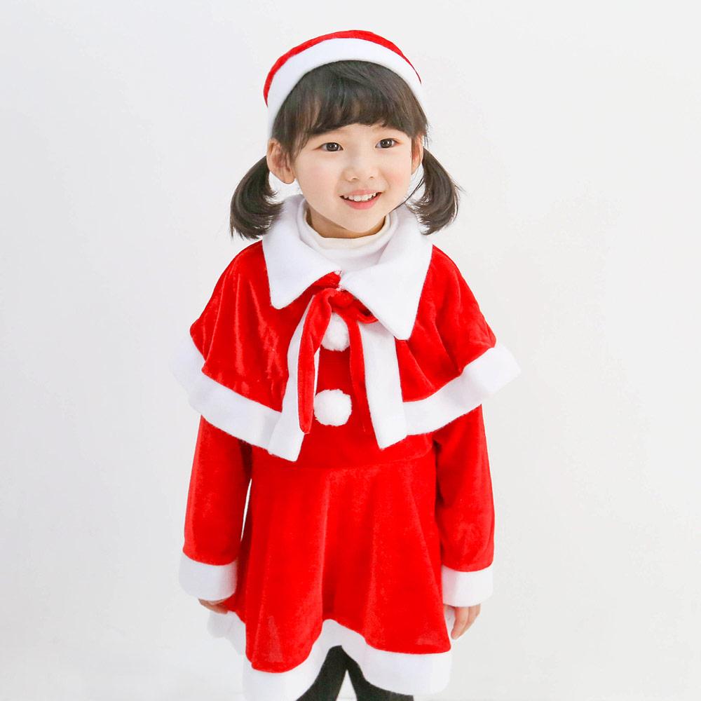 여아용 귀요미 산타복