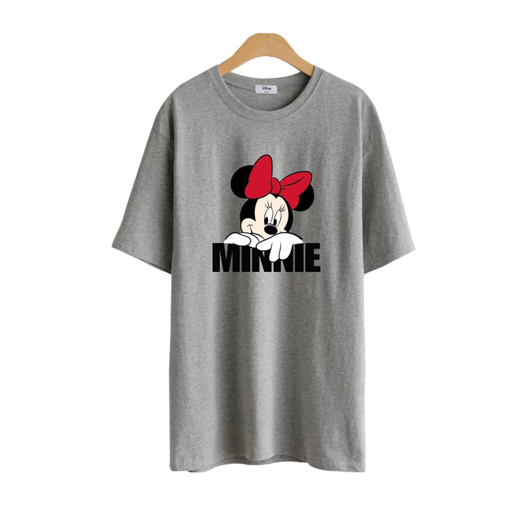 디즈니 오버핏 롱 반팔 티셔츠 RTN18-256