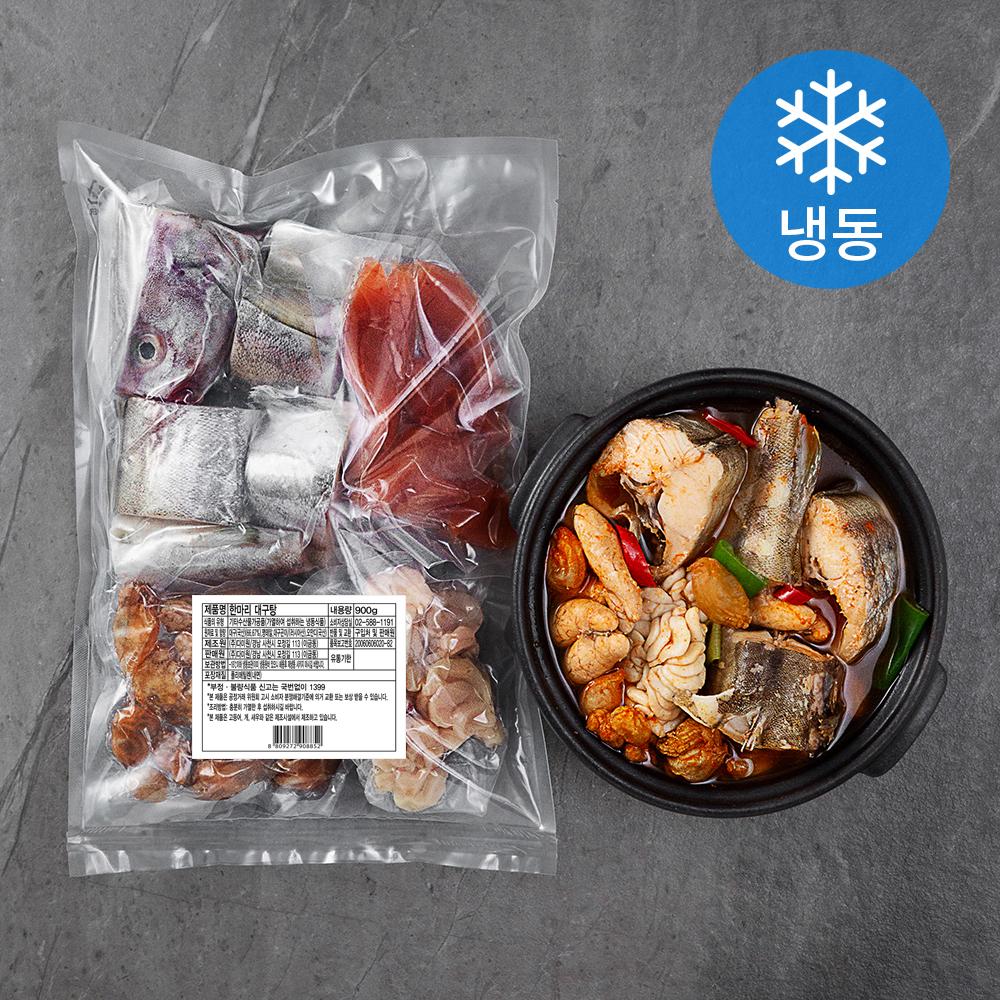 한마리 대구탕 (냉동), 900g, 1개
