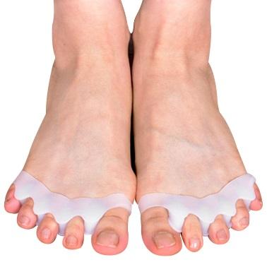 바디공식 밸러니스 발가락링 왼발 + 오른발, 1세트
