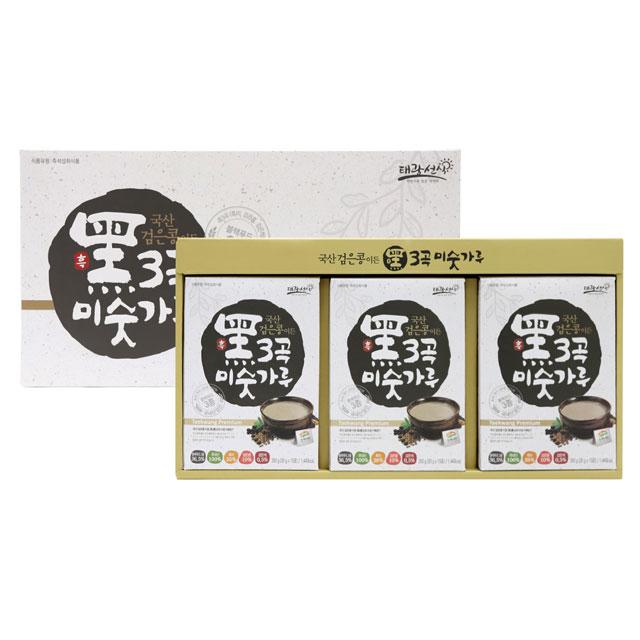 태광선식 국산 검은콩이든 흑 3곡 미숫가루, 35g, 30개입