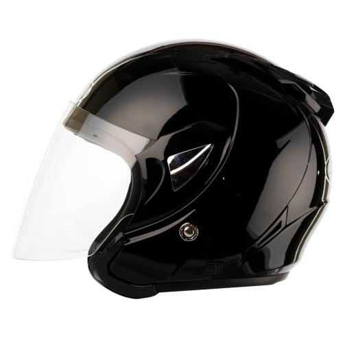 에스에스티 K7 오토바이헬멧, 블랙