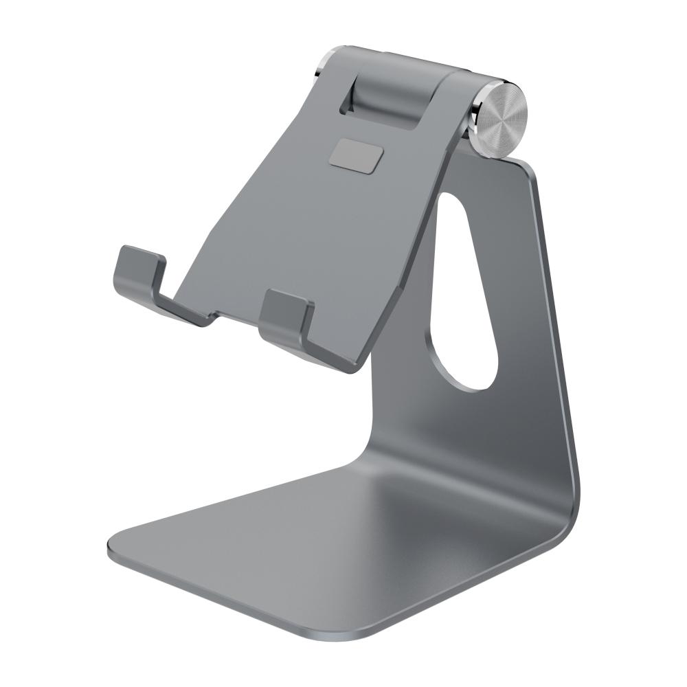 바나다 스마트폰용 스탠드 탁상용 거치대 S2 STAND  그레이  1개홈플래닛 고급형 탁상용 탭 패드 태블릿 스마트폰 거치대