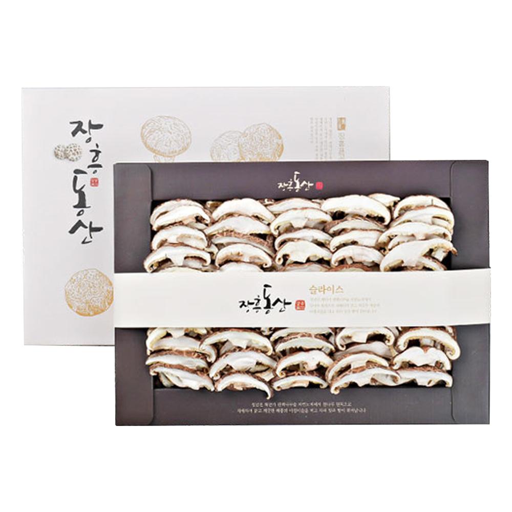 장흥 표고버섯 선물세트 슬라이스 200g + 종이백, 1세트