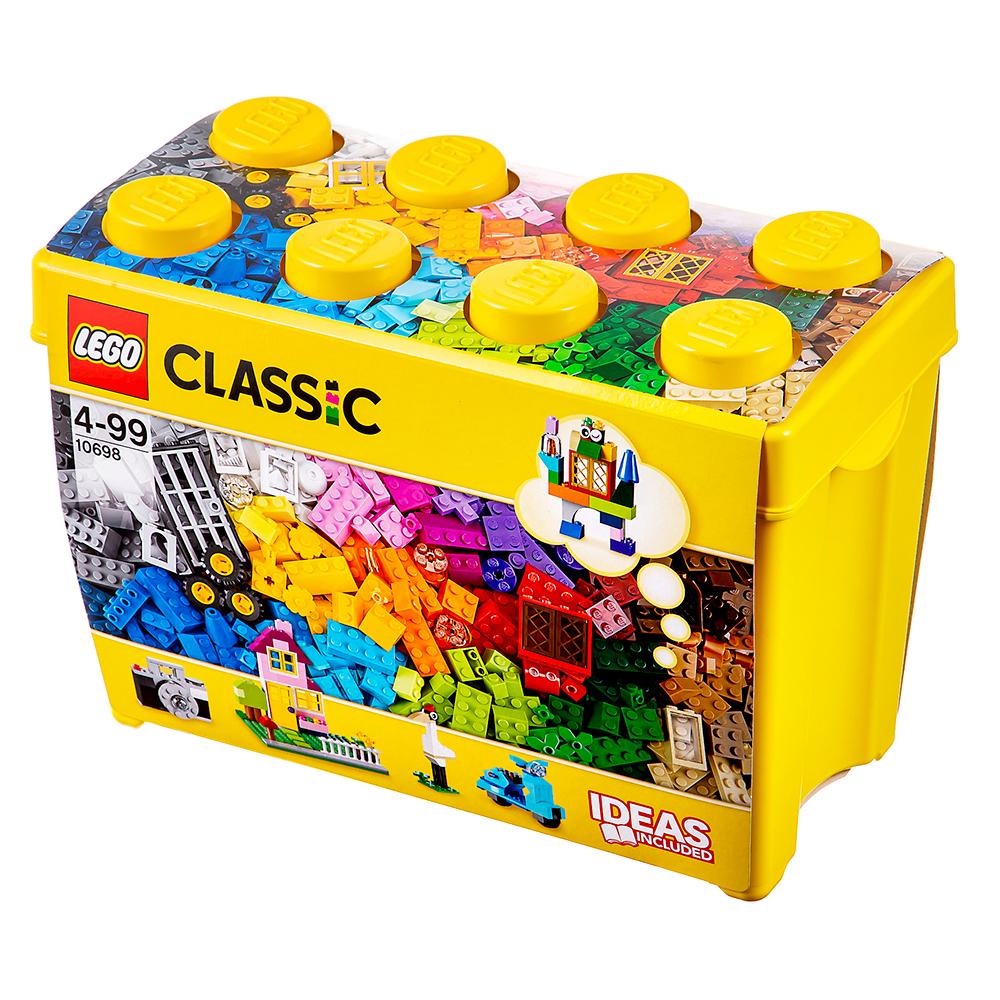 레고 클래식 라지 조립 박스 10698, 혼합 색상