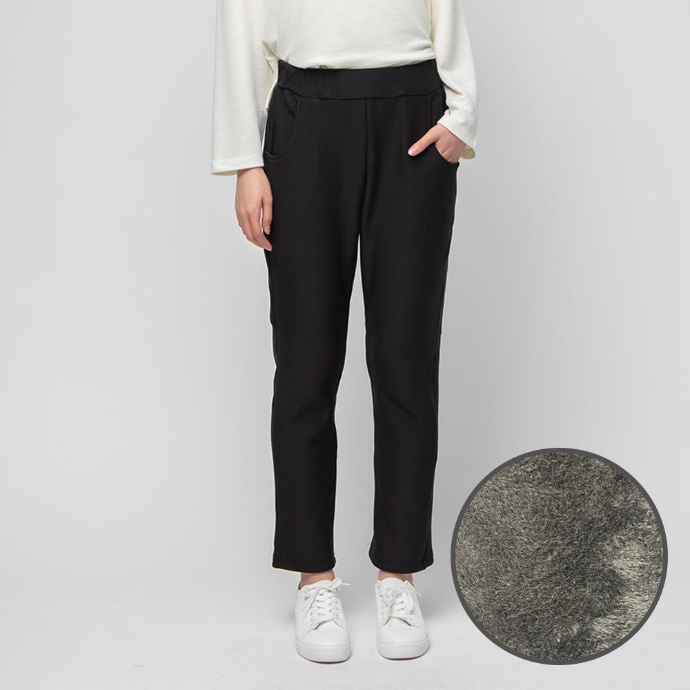 캐럿 여성용 융털 기모 팬츠