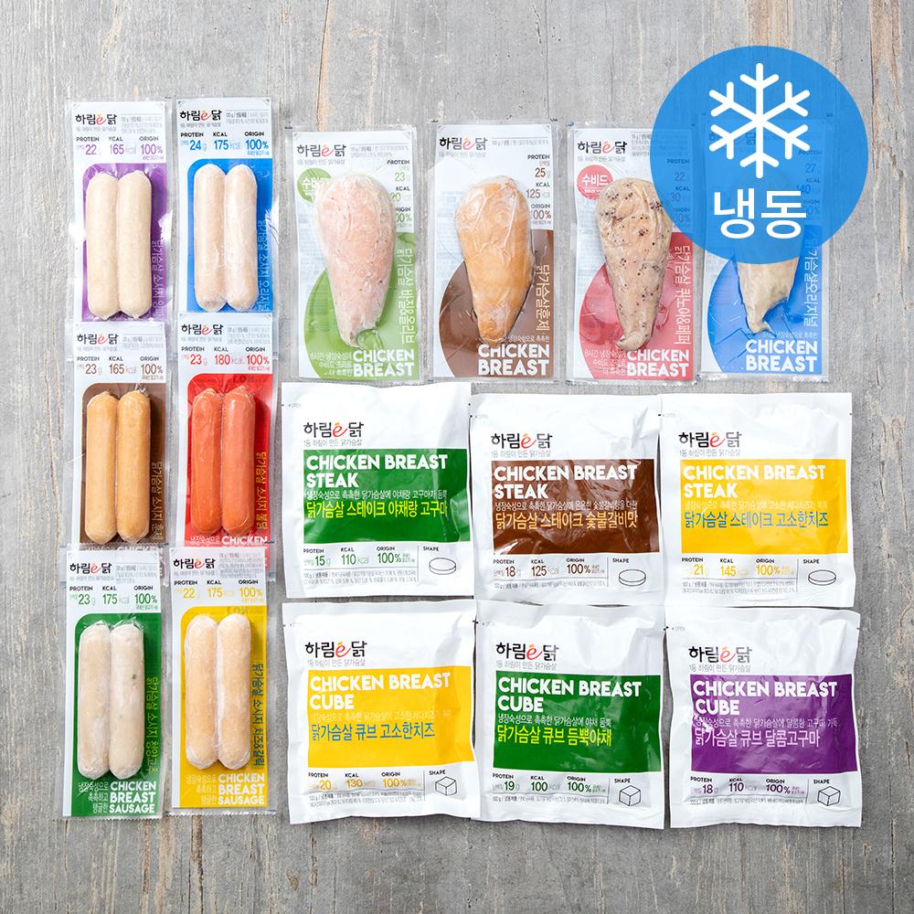 하림이닭 스페셜 패키지 16종 세트 (냉동), 1세트