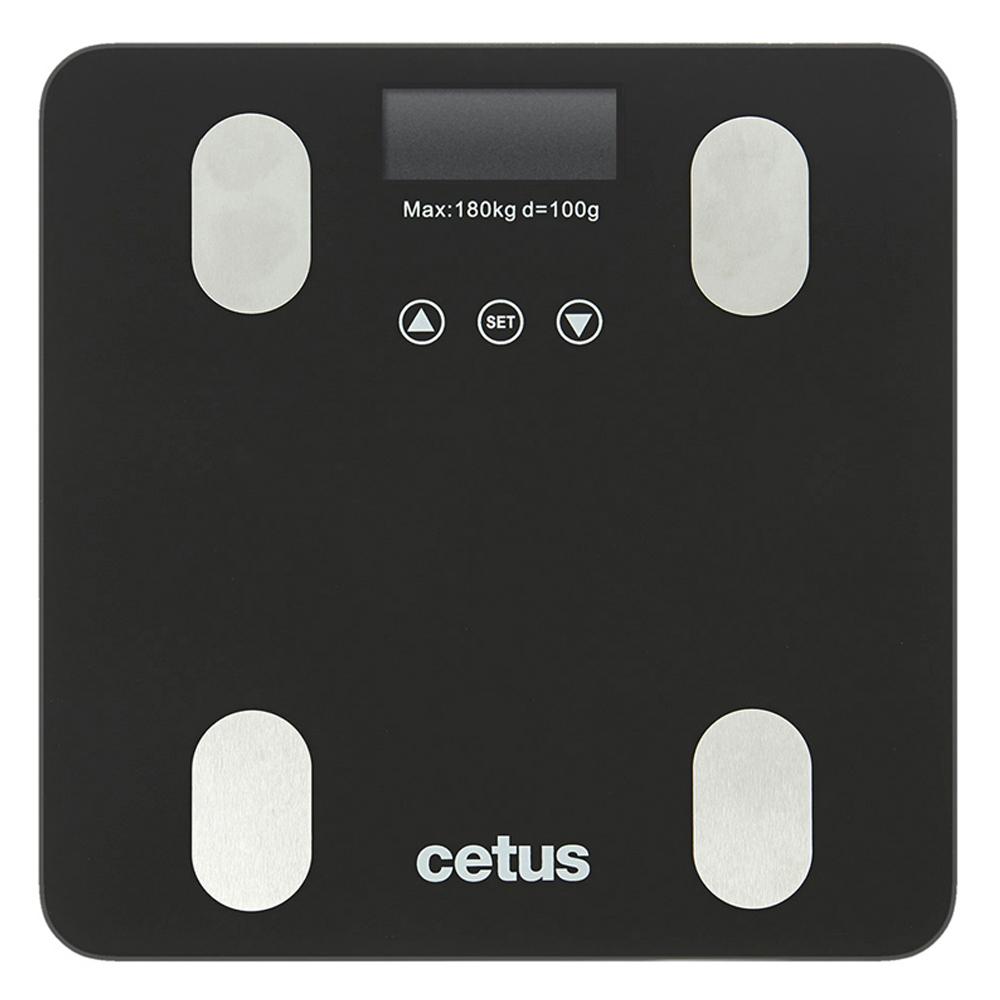 쿠팡 브랜드 - 시터스 디지털 체지방 체중계, QCB-N1BF, 블랙