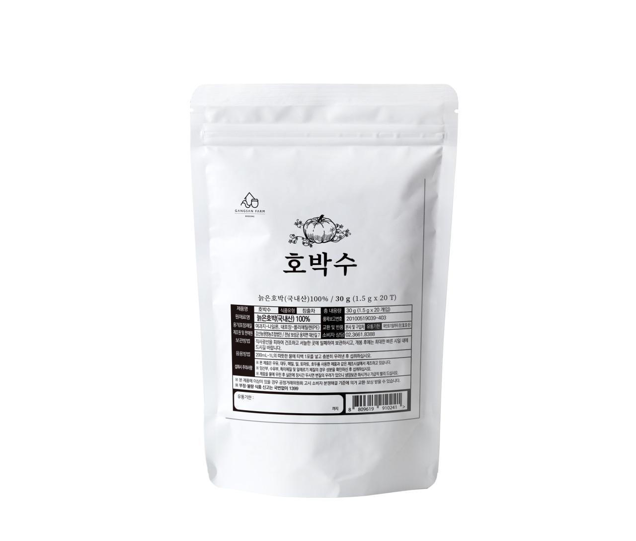 강산농원 호박수, 1.5g, 20개
